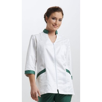 Куртка медицинская женская с воротником от Сборки