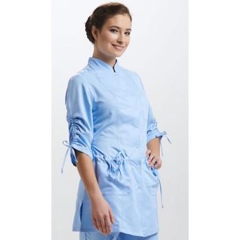 Куртка медицинская женская Шнуровка