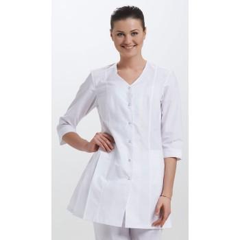 Куртка медицинская женская Складка - V вырез